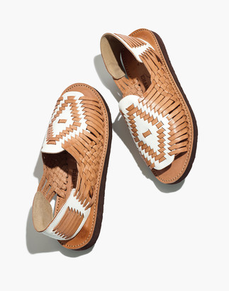 Madewell x Chamula Chichen Open-Toe Huarache Sandals