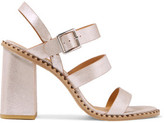 Marc by Marc Jacobs Metallic Leather Sandals