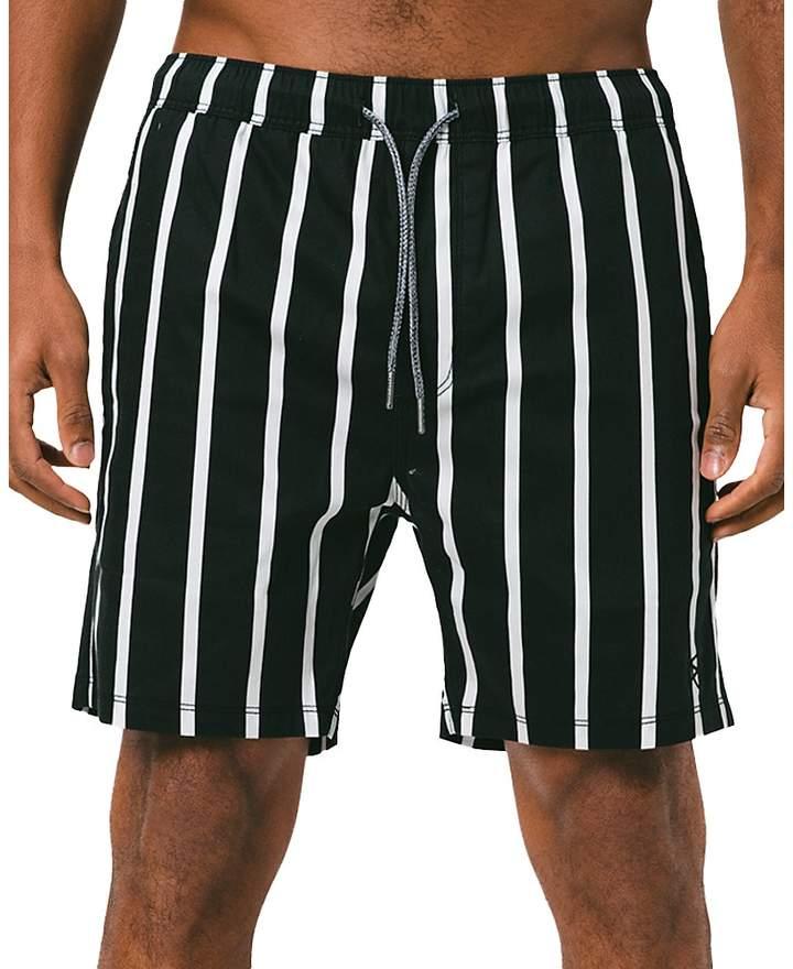 af3de9b6ab Mens White Striped Swimsuit - ShopStyle Australia