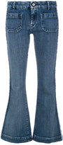 The Seafarer cropped flared jeans