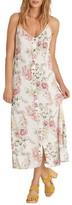 Billabong Women's Ez Breezy Floral Print Midi Dress