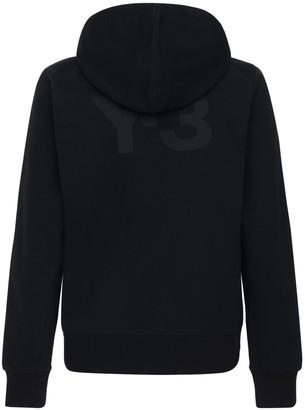 Y-3 Classic Logo Cotton Zip-Up Hoodie