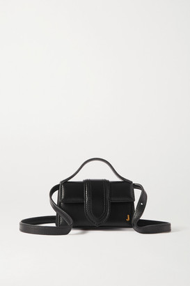 Jacquemus Le Bambino Petit Leather Tote - Black