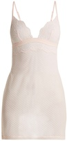 La Perla Tuberose lace-trimmed cami dress