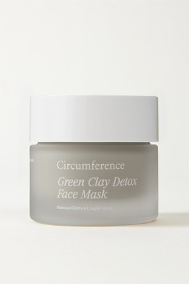 CIRCUMFERENCE Green Clay Detox Face Mask, 50ml - Gray green
