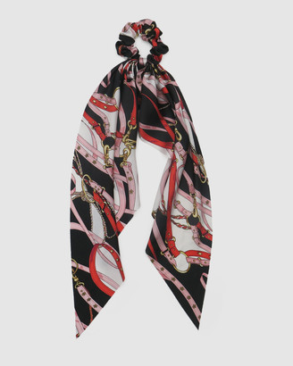 Morgan & Taylor Akira Scrunchie with Long Tails