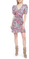 Parker Krislyn Floral Silk Minidress