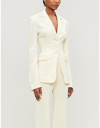 Kwaidan Editions Single-breasted slim-fit stretch-woven blazer
