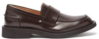 Bottega Veneta Level Leather Loafers - Brown
