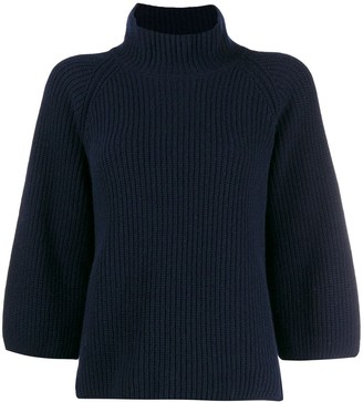 Gentry Portofino Funnel Neck Jumper