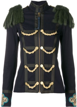 Mr & Mrs Italy Military Inspired Fitted Jacket