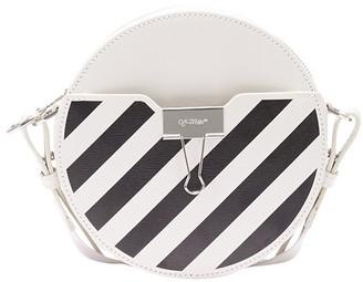 Off-White Diag Round bag