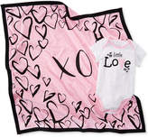 First Impressions Xo Cotton Blanket, Baby Girls, Created for Macy's