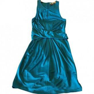 Issa Turquoise Silk Dresses