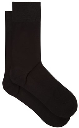 Falke N9 Cotton-blend Socks - Black