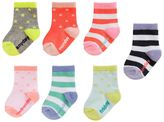 Osh Kosh Girls 4-8 7-pk. Day of the Week Socks