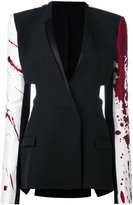 Haider Ackermann patchwork blazer - women - Silk/Cotton/Polyester/Rayon - 40