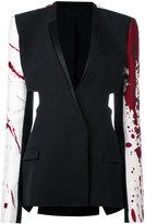 Haider Ackermann patchwork blazer