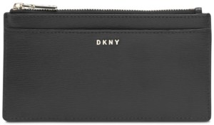 DKNY Bryant Leather Slim Bifold Wallet, Created for Macy's