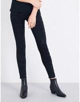 Diesel Dhary distressed super slim-fit mid-rise jeans