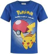 Pokemon Official Pikachu Kid's T-Shirt