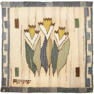 Scandinavian Nazmiyal Collection One-of-a-Kind Hand-Knotted 10' x 10' Wool Indoor Area Rug Nazmiyal Collection