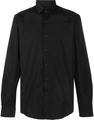 Lanvin Pointed-Collar Button-Up Shirt