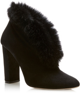 Elie Saab Fur Trimmed Boot