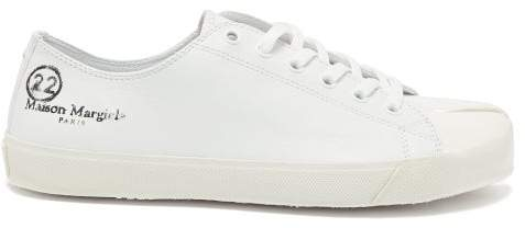 9d4a191f2b1 Tabi Split Toe Low Top Leather Trainers - Mens - White