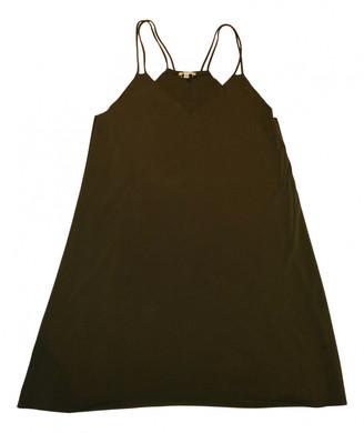 Brandy Melville Green Polyester Dresses