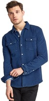 Gap French terry indigo standard fit shirt
