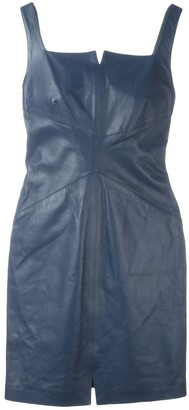 Romeo Gigli Pre-Owned Mini Leather Dress