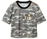 Ten Sixty Sherman Camo Stronger Ringer Tee (Big Girls)