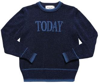 Alberta Ferretti Today Viscose Lurex Sweater