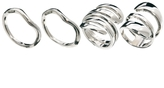 Asos Twisted Mix Ring Pack