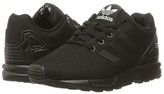 adidas Kids Kids ZX Flux EL (Little Kid) (Core Black/Core Black/Core Black) Boys Shoes