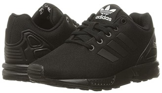 adidas Kids ZX Flux EL (Little Kid) (Core Black/Core Black/Core Black) Boys Shoes