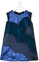 Kenzo sequin and glitter dress - kids - Cotton/Polyester/Acetate/Metallic Fibre - 4 yrs