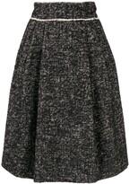 Dolce & Gabbana high-rise pleated skirt