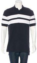 Givenchy Striped Piqué Polo Shirt