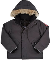 Canada Goose Logan Tech-Fabric Youth Parka-GREY
