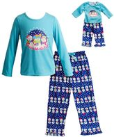 Dollie & Me Girls 4-14 Snowman Pajama Set