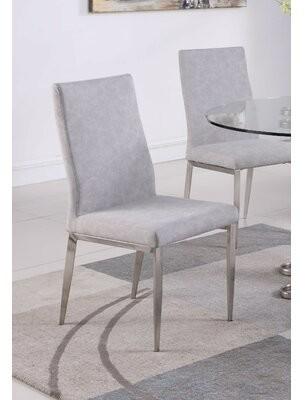 Orren Ellis Desiree Upholstered Dining Chair (Set of 2