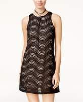 Speechless Juniors' Embellished Lace Dress