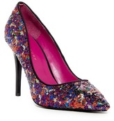 Trina Turk Sequin Stiletto Pump