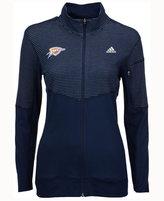 adidas Women's Oklahoma City Thunder Team Logo Jacket