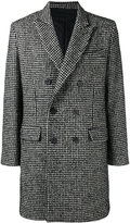 Ami Alexandre Mattiussi Double Breasted Coat - men - Acrylic/Polyamide/Polyester/Other fibres - 42