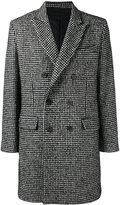 Ami Alexandre Mattiussi Lined Double Breasted Coat