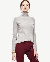 Ann Taylor Petite Mock Neck Tunic Sweater
