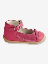 Vertbaudet Girls Leather Mary Jane Shoes